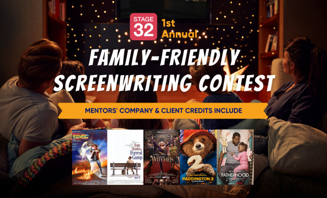 Stage 32 Family-Friendly Screenwriting Contest